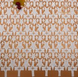 Cordón de Tulle del bordado de la alta calidad, tela francesa del cordón con color doble