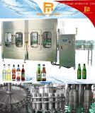 Bebida do tampão de coroa da máquina de enchimento vidro automático e máquina de empacotamento engarrafadas para a cerveja