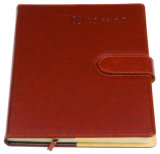 Design de mode Custom PU Leather Stationery Hardcover Notebook with Lock