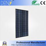 carregador solar portátil policristalino das células solares do sistema do módulo do painel solar DIY do silicone de 12V/18V 4.2W