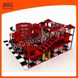Campo de jogos do carro do campo de jogos da cor vermelha de Mich
