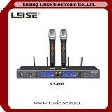 Ls603専門のデュアルチャネルのデジタル多様性の無線電信のマイクロフォン