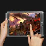 Película de cristal Tempered del protector de la pantalla del Anti-Dedo HD para Samsung T350