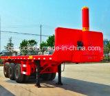 De vente de la Chine de conteneur remorque chaude semi, remorque de tombereau de conteneur