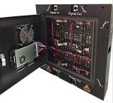El panel de aluminio P7.62 de la cabina para hacer publicidad