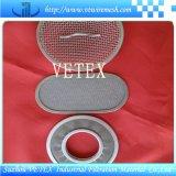 Кислот-Сопротивляя диск фильтра нержавеющей стали