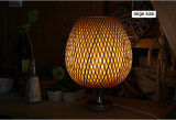 호텔 홈을%s 대나무 길쌈 책상 테이블 독서 빛 램프