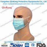 医薬品Earloopの使い捨て可能な非編まれたプロシージャマスク