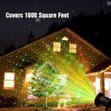 تأثير ليزر مسلاط مصباح, ليزر مرج ضوء خارجيّة حديقة عيد ميلاد المسيح