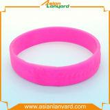 Wristband promozionale del silicone di disegno di modo