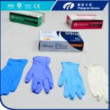 Перчатка нитрила/устранимые перчатка нитрила/латекс перчаток рассмотрения нитрила освобождают Малайзию