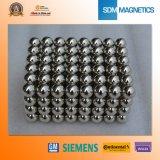 Esfera permanente poderosa forte do ímã do Neodymium ISO/Ts16949