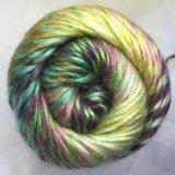 Tricotando manualmente o fio, fio extravagante, fio Roving, Jd9418