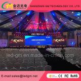 Interior P3.91 Caballete de aluminio de fundición de aluminio Pantalla LED para alquiler de escenario
