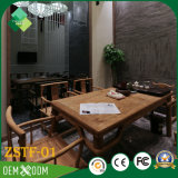 Ensemble de meubles d'habitation en bois de style moderne de luxe (ZSTF-01)