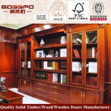 De grote Boekenkast van de Grootte met de Lijst van de Studie (GSP9-030)