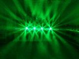 la discoteca capa mobile DJ della fase della lavata dello zoom del fascio degli occhi LED dell'ape 6X40W si illumina