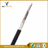 Cavo di fibra ottica multimoda di memorie allentate del tubo 24 del filo esterno