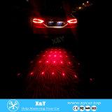 2016年のLattestデザイン高品質車レーザーの警報灯車レーザーの霧ランプのAnti-Collision映写用電球