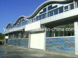 Edificio prefabricado de la estructura de acero para la planta del almacén, del taller y de fábrica