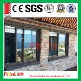 Finestra di scivolamento di vetratura doppia con la certificazione del Ce