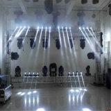 4PCS LED DJ 단계를 위한 이동하는 맨 위 광속 빛