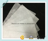 Ткань фильтра белой Nonwoven иглы пробивая