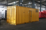 Jogo de gerador Diesel da potência Containerized silenciosa principal de Cummins do gerador 1MW
