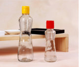 De transparante Loodvrije Fles van het Glas van de Olie van de Sesam 340ml