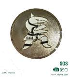 i militari antichi d'ottone dell'oro 3D sfidano la moneta