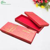 Casella di carta impaccante di stampa su ordinazione professionale per vestiti/regalo/maglietta/indumento/pattini (KG-PX037)