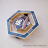 Custom 3D Logo Badge with Button Badge Souvenir Gift (YB - HD - 126)