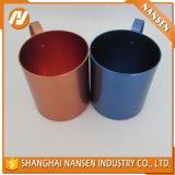 Taza de aluminio anodizada suave 450ml con la maneta