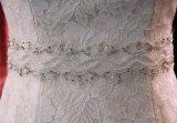 Платье цвета слоновой кости венчания шнурка Mermaid
