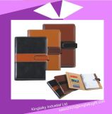 Кожаный подарок тетради установил для промотирования (P017)