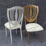 Weißes Sta⪞ Kable Metall verwendete Hochzeits-Bankett-Stühle mit entfernbarem Sitz Cuhion (YC-A&⪞ apdot; 78)