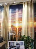 Славные домашние занавесы ткани тканья для двери и окна