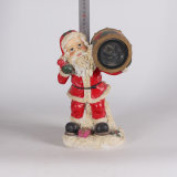 Resina Custom Christmas Decoration Papai Noel Solar Light