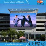 Visualización de LED al aire libre a todo color Cost-Saving P16 con la instalación fija