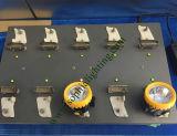 Estante de la carga de la estación de la carga para la lámpara de la pista de la linterna de la batería de litio