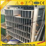 Perfil do indicador da cortina do alumínio do fabricante 6063 para o edifício