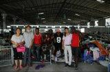 Exportação usada da roupa às sapatas usadas alta qualidade de África no volume