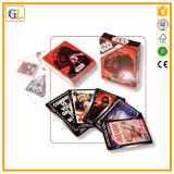 Cartes de jeu de papier promotionnelles personnalisées de tisonnier