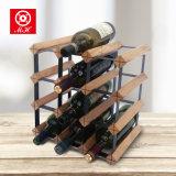 Шкаф хранения пива мебели шкафа вина бутылки оптовой продажи 12 деревянный