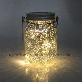 輝やきを用いるロマンチックな除草の装飾ガラスハングLEDの太陽ライト