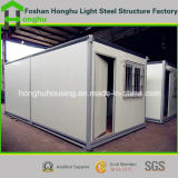 Het standaard Huis van de Container van het Geprefabriceerd huis van de Bouw van het Staal voor Aanpassing