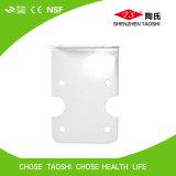 Corchete colgante plástico para el filtro de agua doble de la etapa