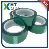 Venta fuerte de la cinta adhesiva del animal doméstico del poliester del verde de la adherencia