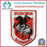Guter verkaufengestickter kundenspezifischer Firmenzeichen-Entwurf kleidet Abzeichen