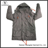 Ys-1075 Windbreaker Winter Waterproof Respirável Tactical Softshell Jacket Hoodie Mens